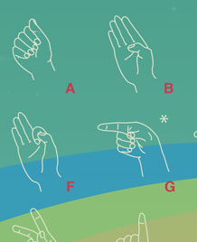 ASL fingerspelling