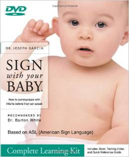 sign with your baby-baby sign language