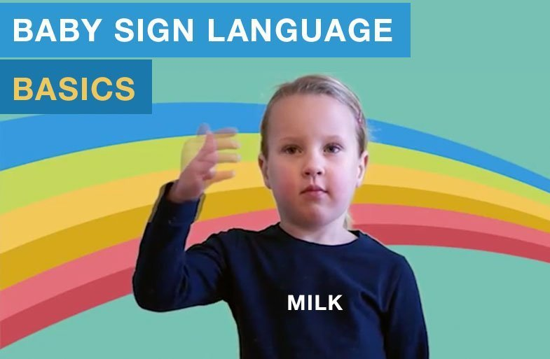 Baby sign language basics: milk