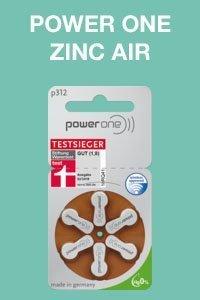 power one zinc air size 312
