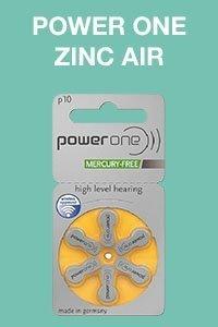 power one zinc air size 10