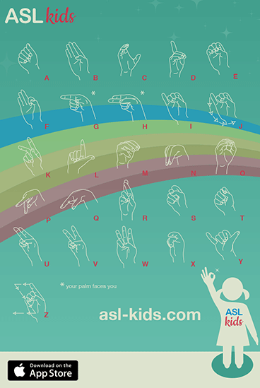 free printable sign language alphabet
