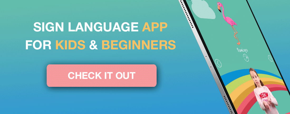 Sign Language App for kids and beginners